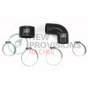 GrimmSpeed Top Mount Intercooler Silicone Coupler Kit Black - 04+ STI / 02-07 WRX