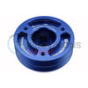 GrimmSpeed Lightweight Crank Pulley Blue - 02-14 WRX / 04-18 STI