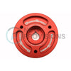 GrimmSpeed Lightweight Crank Pulley Red - 02-14 WRX / 04-18 STI