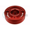 GrimmSpeed Lightweight Crank Pulley Red - 02-14 WRX / 04-20 STI