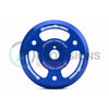 GrimmSpeed Lightweight Crank Pulley Blue - 15-18 WRX / 13+ BRZ