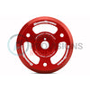 GrimmSpeed Lightweight Crank Pulley Red - 15-18 WRX / 13+ BRZ