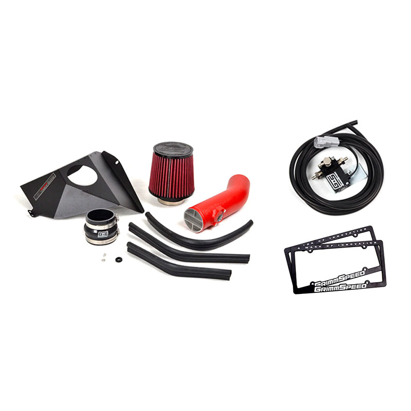 GrimmSpeed Stage 1 Power Package Red Tubing - 15-19 STI