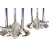 GSC Power-Division Stainless Steel Intake Valves +1mm Oversize - 04+ STI / 02-14 WRX