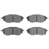 Hawk High Performance Street Brake Pads Front - 15-19 WRX / 14-18 FXT