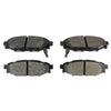 Hawk High Performance Street Brake Pads Rear - 15-19 WRX
