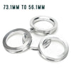 Subaru Hub Ring Set Aluminum - 73.1mm to 56.1mm