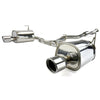 Invidia Q300 Cat Back Exhaust - Polished Tips - 14+ FXT
