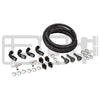 IAG Braided Fuel Line & Fitting Kit For IAG Top Feed Fuel Rails & OEM FPR - 02-14 WRX / 04+ STI