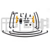 IAG PTFE Flex Fuel System Kit w/ Lines, FPR & Gold Fuel Rails - 08-19 STI