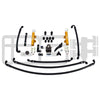 IAG PTFE Fuel System Kit w/ Lines, FPR & Gold Fuel Rails - 08-14 WRX