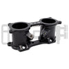 IAG V2 Top Feed TGV Deletes / Housings Black Anodized - 02-14 WRX / 07-20 STI