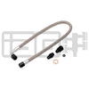 IAG Performance High Pressure Braided Power Steering Lines (Rotated Turbo Routing) - 02-07 WRX/STI