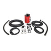 IAG V3 Street Series Air Oil Separator Red - 08-20 STI / 08-14 WRX