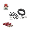 IAG / Aeromotive Top Feed Fuel Rail and Line Kit w/ FPR - 02-14 WRX / 07-19 STI