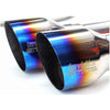 Invidia Gemini (R400) Single Layer Quad Tip Catback Exhaust - 11-14 WRX/STI Sedan Only