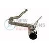 Invidia N1 Non-Resonated Bead Blasted Piping Catback Titanium Tip - 15-20 WRX/STI