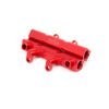 Aluminati Red Fuel Rails - 02-14 WRX / 07+ STI