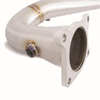 Mishimoto Catted One-Piece Downpipe CVT- 15-18 WRX / 14+ FXT