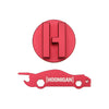 Mishimoto Hoonigan Oil Filler Cap Red - 02+ WRX/STI