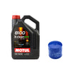Motul 8100 5W-30 XClean EFE Oil and Filter Kit - 02-14 WRX / 04-19 STI
