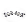 OLM Full Replacement LED License Plate Housing Lights - 15+ WRX/STI
