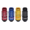 Project Kics Leggdura Shell Type RL53 Open End Lug Nuts - 12x1.25
