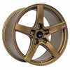 Option Lab R555 18x8.5 5x108 +40 Formula Bronze Wheel - Universal