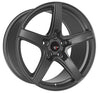 Option Lab R555 18x9.5 5x114.3 +38 Noble Grey Wheel - Universal
