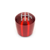 Raceseng Ashiko Red Translucent Shift Knob - 04-20 STI / 15-20 WRX