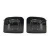 Subispeed USDM Turn Signal Housing Dark Smoke Lens Black Reflector - 15-18 WRX/STI