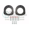 "Subtle Solutions 1"" Saggy Butt Rear Spacer Set - 02-07 WRX/STI"