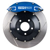 StopTech ST-40 Big Brake Kit Front 355x32mm Slotted Rotors Blue Calipers - 15-20 WRX