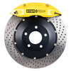 StopTech ST-40 Big Brake Kit Front 355x32mm Drilled Rotors Yellow Calipers - 15-20 WRX