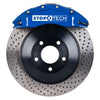 StopTech ST-40 Big Brake Kit Front 355x32mm Drilled Rotors Blue Calipers - 15-20 WRX