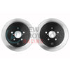 Centric Premium Brake Rotors Rear Pair - 15-19 WRX