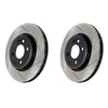 StopTech Slotted Sport Brake Rotors Pair 11-14 WRX