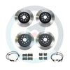 DBA T2 Street Brake Rotor Package Deal - Choice of Pads - 04-07 STI