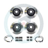 DBA T2 Street Brake Rotor Package Deal - Choice of Pads - 08-10 WRX