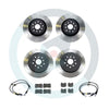 DBA T2 Street Brake Rotor Package Deal - Choice of Pads - 15-17 STI