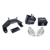 Torque Solution Solid Billet Engine & Transmission Mounts w/ Mount Plates - 02-14 WRX / 04-19 STI