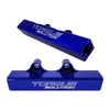 Torque Solution Top Feed Fuel Rails - Blue - 02-14 WRX / 07+ STI
