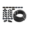 Torque Solution Braided Fuel Line Kit for -6 Aeromotive FPR - 04+ STI / 02-14 WRX