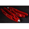 Verus Engineering 7000 Series Aluminum Lightweight Lower Control Arms Red - 08-18 WRX/STI
