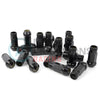 Muteki SR48 Chrome Black Open Ended Lug Nuts 12x1.25