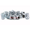 Muteki SR35 16+4 Closed Ended Silver Lug Nuts 35mm 12x1.25