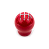 Raceseng Contour Red Gloss Shift Knob w/ Engraving - 04-20 STI / 15-20 WRX