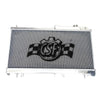 CSF Aluminum Racing Radiator 2 Row - 08+ STI / 08-14 WRX