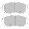 Hawk HP+ Front Brake Pads - BRZ/FRS