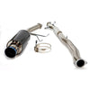 HKS Carbon-Ti Cat Back Exhaust - 02-07 WRX/STI